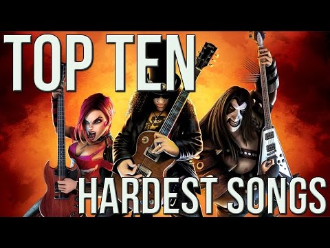 Top 10 Hardest Guitar Hero Songs