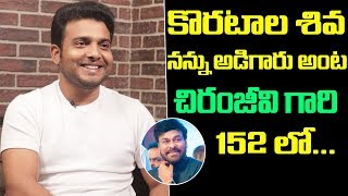 Jabardasth Getup Srinu about chance in Chiranjeevi's 152nd..