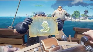 Justin McElroy would like you to look at his map in Sea of Thieves