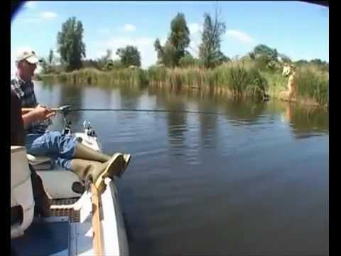 Красивая рыбалка... с еб&#й!!! :))))