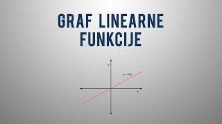 Graf linearne funkcije