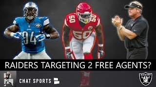 Raiders Free Agency Rumors On Justin Houston & Ezekiel Ansah, Josh Jacobs 2019 NFL Draft, Roster Cut