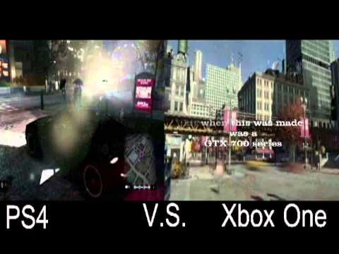 XBOX ONE VS PS4 Watch Dogs - YouTube