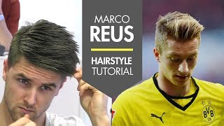 how to style hair like marco reus reus haircut name hairstylegalleries 7798