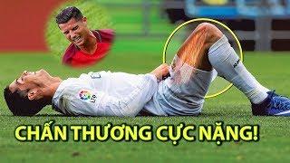 ► Top 8 lần chấn thương đáng nhớ trong sự nghiệp của Ronaldo ☞ Chiến đấu đến cùng vì mầu cờ sắc áo!