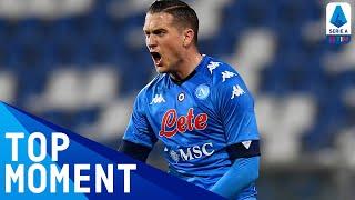 Zielinski's Fine Strike Levels for Napoli!   Sassuolo 3-3 Napoli   Top Moment   Serie A TIM