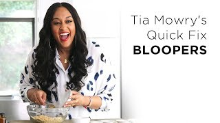 Tia Mowry's Outtakes & Bloopers | Tia Mowry's Quick Fix