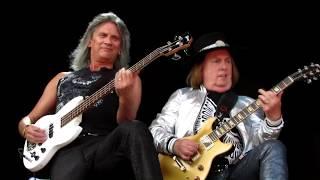 Slade at  Sweden Rock Festival 2018.