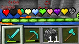 Paso Minecraft pero Hay MAS Corazones Custom OP
