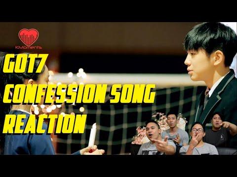 [4LadsReact] GOT7 - Confession song MV Reaction