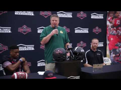 AMARI RODGERS:  American Family Insurance Selection Tour Jersey Presentation
