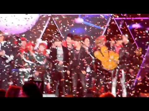 [FANCAM]140101 SUPER JUNIOR-M & EXO M @ 2014 COUNTDOWN + 29TH MING♥
