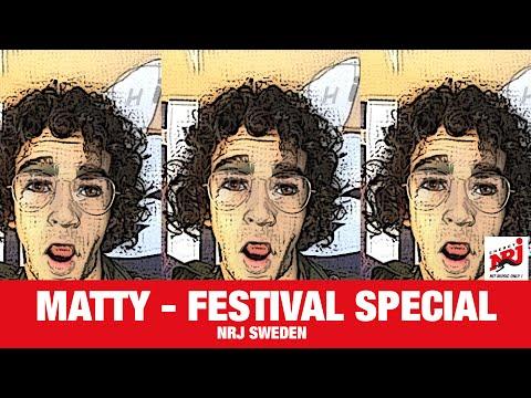 [INTERVIEW] Matty Healy - Festival Special - NRJ SWEDEN