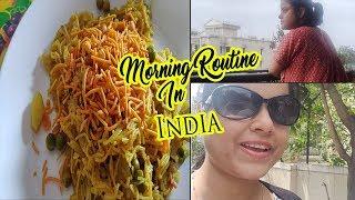 ऐसी सुबह बस India में होती है~Indian Morning Breakfast Routine~Namkeen jave
