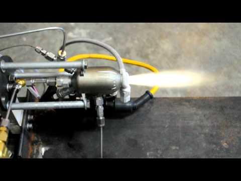 3D Printed Rocket Test #5