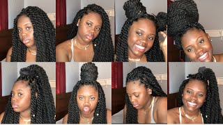 How to: STYLE TWIST/BRAIDS   Natural Hair   TheyCallMe Deezy