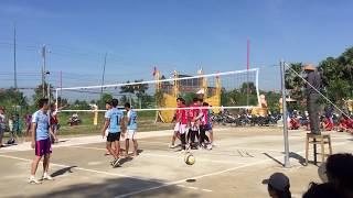 Giải bóng chuyền tỉnh Kiên Giang - Tắc Cậu vs Gạo Bình Điệp
