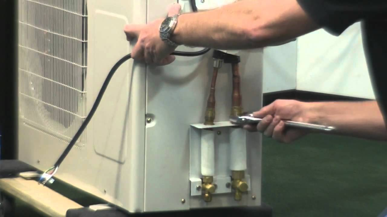Ideal Air Mini Split Installation Youtube