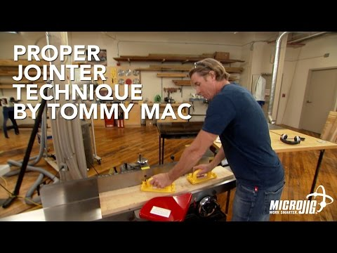 How to Use a Jointer by Tommy Mac