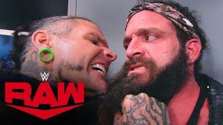 WWE RAW (11/16): Jeff Hardy Gets In Elias' Face