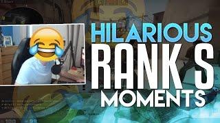 HILARIOUS RANK S MOMENTS - tarik's Stream Shenanigans #6