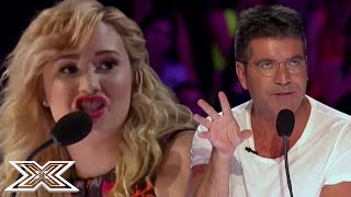 Demi Lovato SCHOOLS Simon Cowell With SAVAGE Insult On X Factor USA | X Factor Global