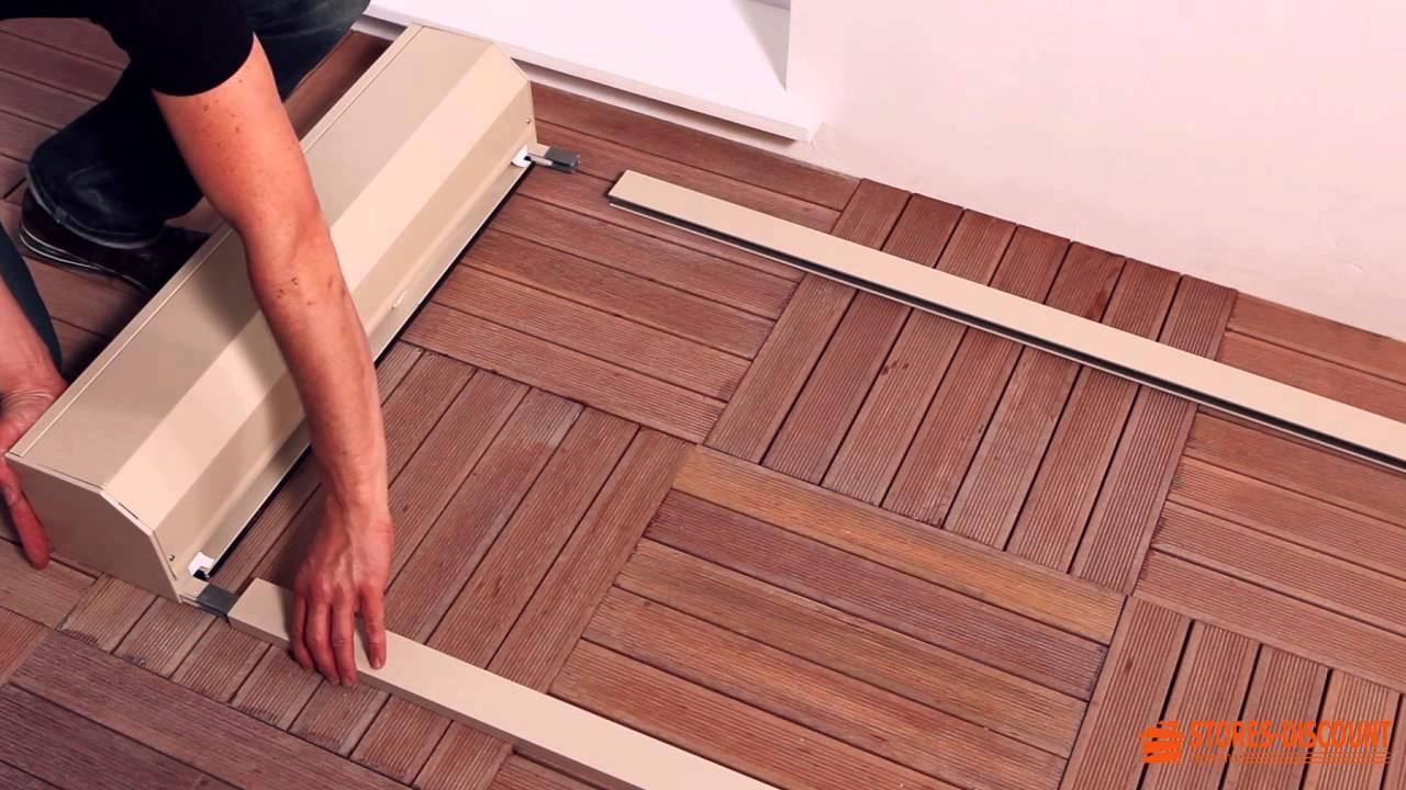 comment poser un volet roulant r novation sous linteau et linteau invers youtube. Black Bedroom Furniture Sets. Home Design Ideas