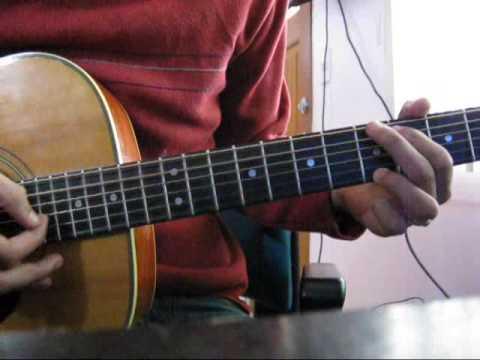Kilometros-Sin bandera[tutorial Intro guitarra]