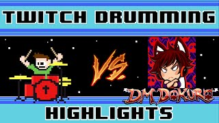 DM DOKURO - Reality Check Through The Skull (Blind Drum Challenge) -- The8BitDrummer