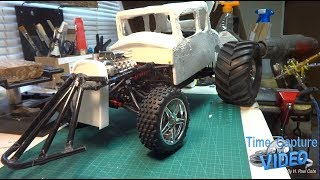 apocalyptic car RC 1930 Ford Coupe Build Part 3