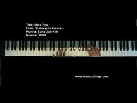 Miss You - Stairway from Heaven - Korean - Piano