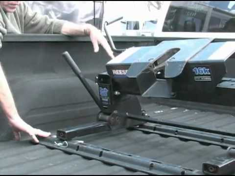 Fifth Wheel To Gooseneck Hitch >> Hooking Up a 5th Wheel - Part 2 - YouTube