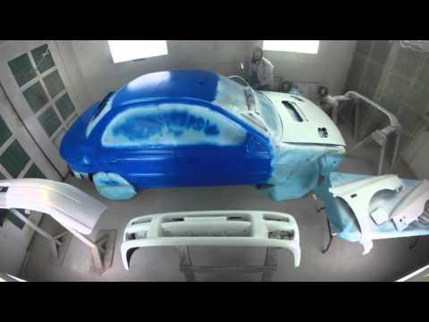 Rally Car Paint Timelapse