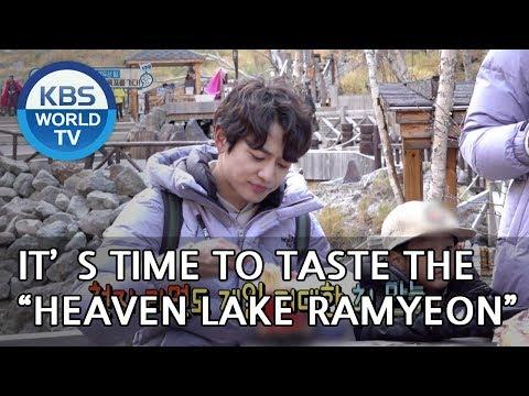 It's time to taste the Heaven Lake Ramyeon! [The Return of Superman/2018.11.11]