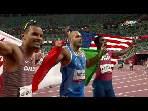 Marcell Jacob, người đàn ông chạy nhanh nhất thế giới | CK 100m nam | OLYMPIC TOKYO 2020