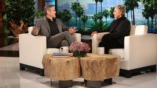 George Clooney on Proposing to Amal