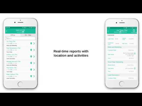 Real Time Attendance & Location of Field Force - TimenTask