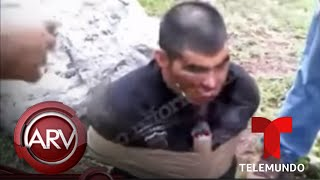Grupo sicario dinamita a uno de sus enemigos en México | Al Rojo Vivo | Telemundo