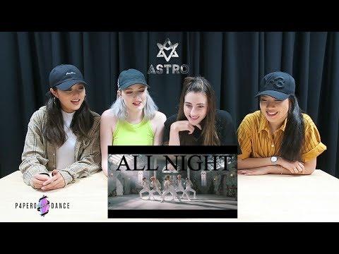 [MV REACTION] ALL NIGHT (전화해) - ASTRO | P4pero Dance