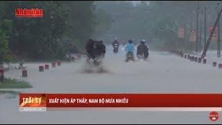 Tin Thời Sự Hôm nay (6h30 - 29 /10/2017):  Áp Thấp Nhiệt Đới Xuất Hiện Khiến Nam Bộ Mưa Nhiều