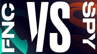 FNC vs. SPY - Playoffs Round 2 Game 1 | LEC Spring Split | Fnatic vs. Splyce (2019)