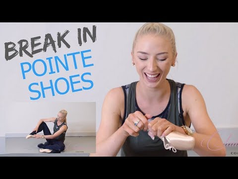 HOW I BREAK IN MY POINTE SHOES!