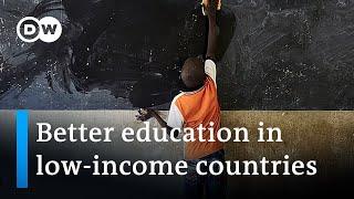 Global education summit aims to raise billions | DW News