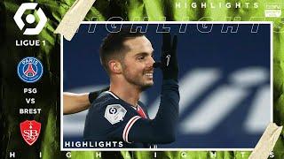 PSG 3 - 0 Brest - HIGHLIGHTS & GOALS - 1/9/2021