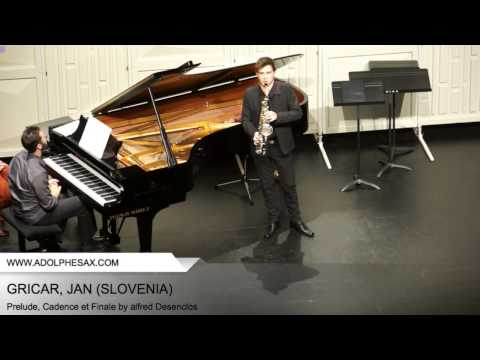 Dinant 2014 - Gricar, Jan - Prelude, Cadence et Finale by alfred Desenclos