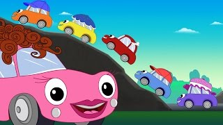 Five Little Baby Cars Song + Baby Car & Monster Trucks Pom Pom Songs + Baby videos by FunForKids - YouTube