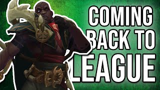 What is it like returning to League of Legends?