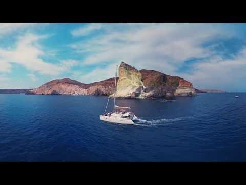 360°-matka Santorinille