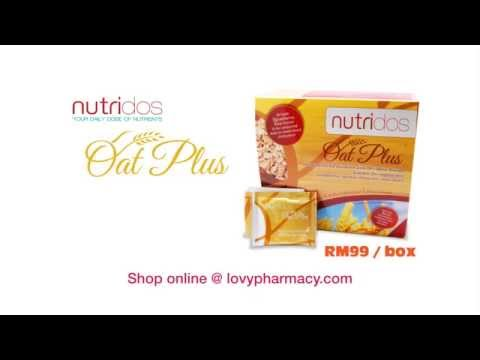 Lovy Pharmacy - Nutridos Oat Plus Advertisement (Chinese)