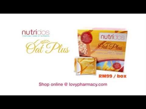Lovy Pharmacy - Nutridos Oat Plus Advertisement (Chinese)